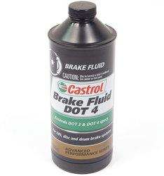 Brake Fluid: Castrol DOT 4 Synthetic 1 Quart