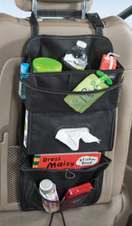 High Road TissuePockets Seat Organizer: Black