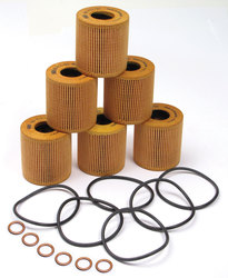 Oil Filter Kit: Set Of 6 By MANN