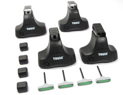 Thule Traverse Foot Pack - Requires Additional Vehicle Specific Fit Kit